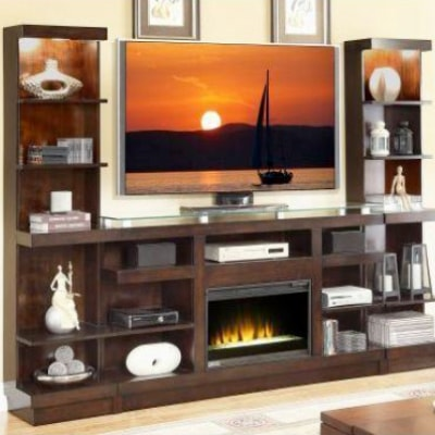 NOVELLA FIREPLACE WALL UNIT